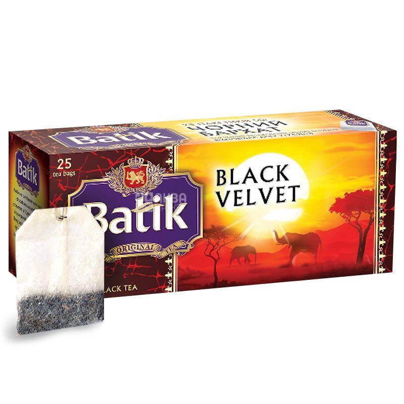Batik, 25 шт., чай черный, Black Velvet