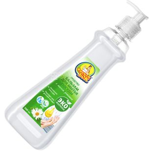 Freken Bok, 500 ml, eco dishwashing balm, With chamomile oil, PET
