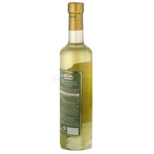 Monini, 0,5 л, оцет 7,1 %, Винний, Білий, Скло