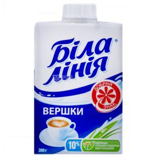 White Line, 200 g, 10%, cream, Ultrapasteurized