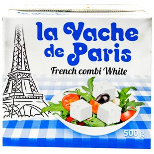 Парижська Буренка, 500 г, 55 %, сир фета