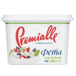 Premialle, 500 г, 45 %, сыр фета