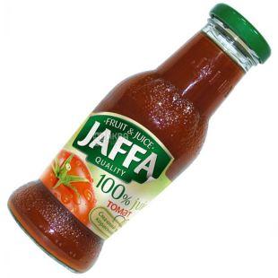 Jaffa, 0,25 л, сік, Томатний з сіллю, скло
