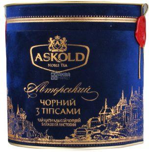 Askold, 80 г, чай чорний, З тіпсами, Authоr's, тубус