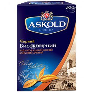 Askold, 100 шт., чай черный, Высокогорный