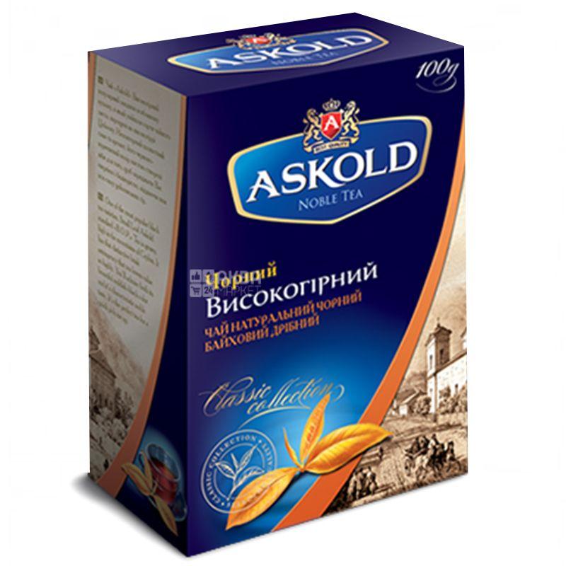 Askold, Высокогорный, 100 пак., Чай Аскольд, черный