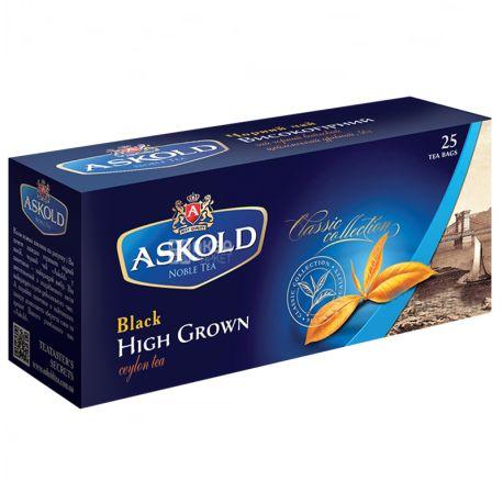 Askold, 25 шт., чай черный, Высокогорный