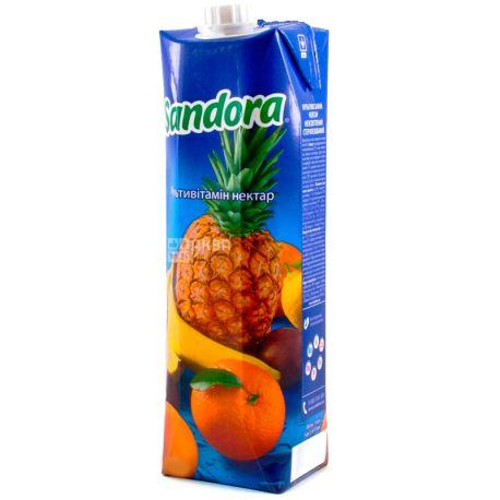 Sandora, Мультивитамин, 0,95 л, Сандора, Нектар натуральный