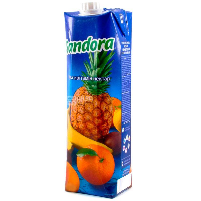 Sandora, Мультивітамін, 0,95 л, Сандора, Нектар натуральний