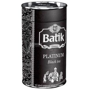 Batik, 100 г, чай черный, Platinum, ж/б