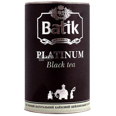 Batik Platinum,100 г, Чай Батик, Платинум, черный, среднелистовой, ж/б