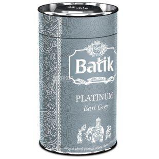 Batik, 100 г, чай чорний, Platinum Earl Grey, ж/б