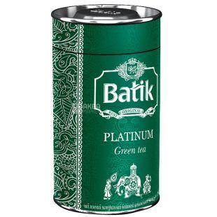 Batik, 100 г, чай зеленый, Platinum, ж/б