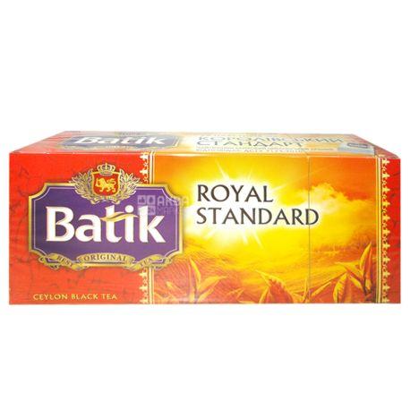 Batik, Royal Standart, 25 пак., Чай Батік, Королівський стандарт, чорний