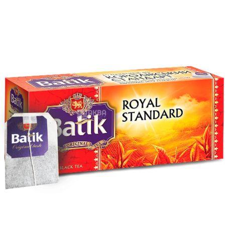 Batik, 25 шт., чай черный, Королевский стандарт