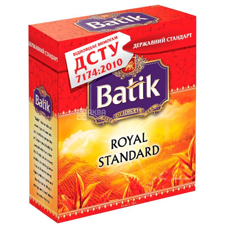 Batik, Royal Standart, 100 пак., Чай Батік, Королівський стандарт, чорний