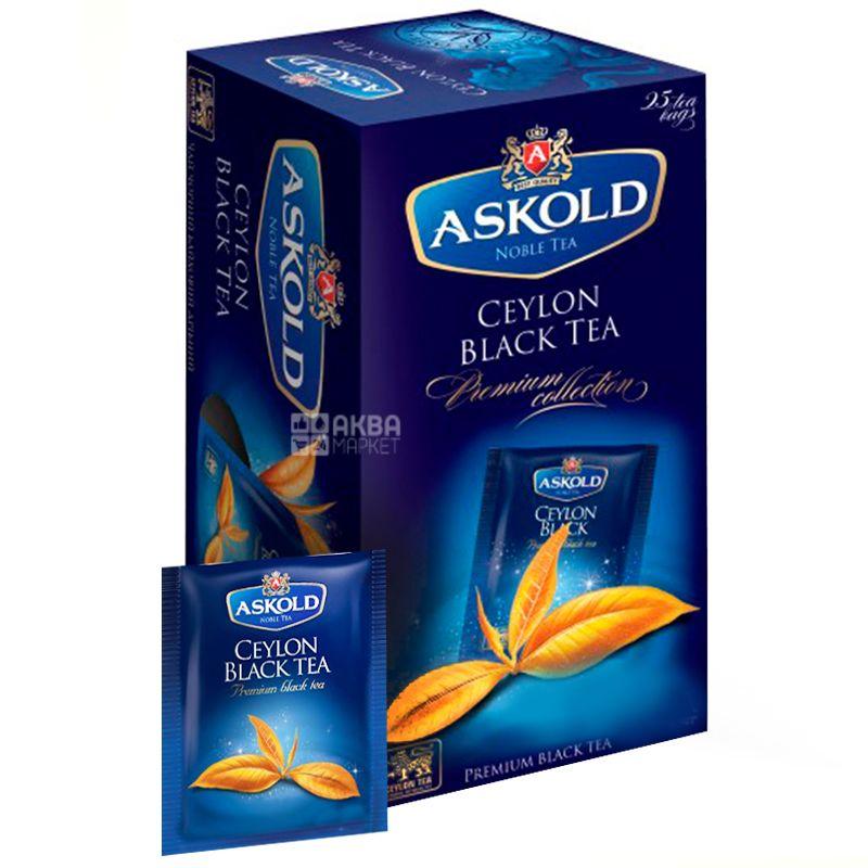 Askold, Ceylon Black Tea, 25 пак., Чай  Аскольд, черный