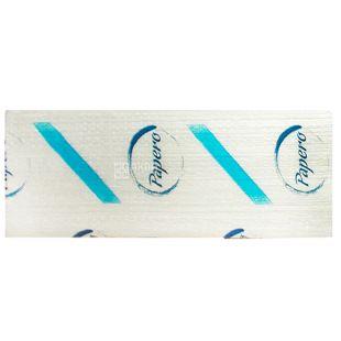 Паперові рушники, 160 листів, 210х220 мм, Листові, Двошарові, Білі, м/у