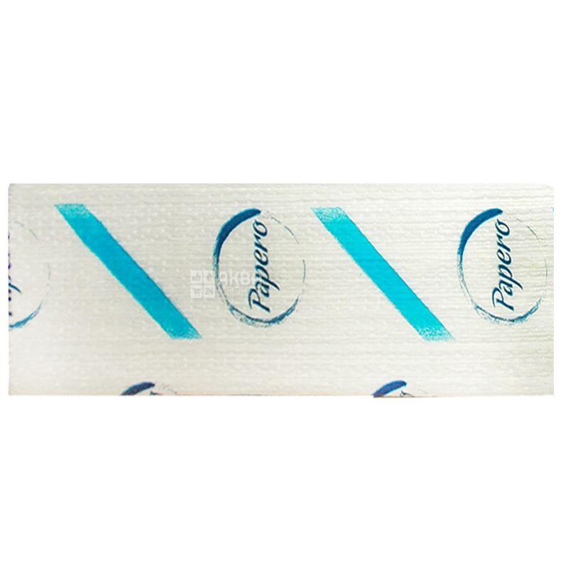 Бумажные полотенца, 160 листов, 210х220 мм, Листовые, Двухслойные, Белые, м/у
