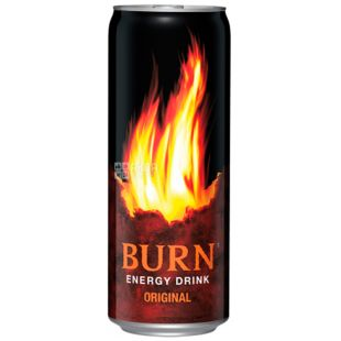 Burn, 0.25 l, energy drink, w / w