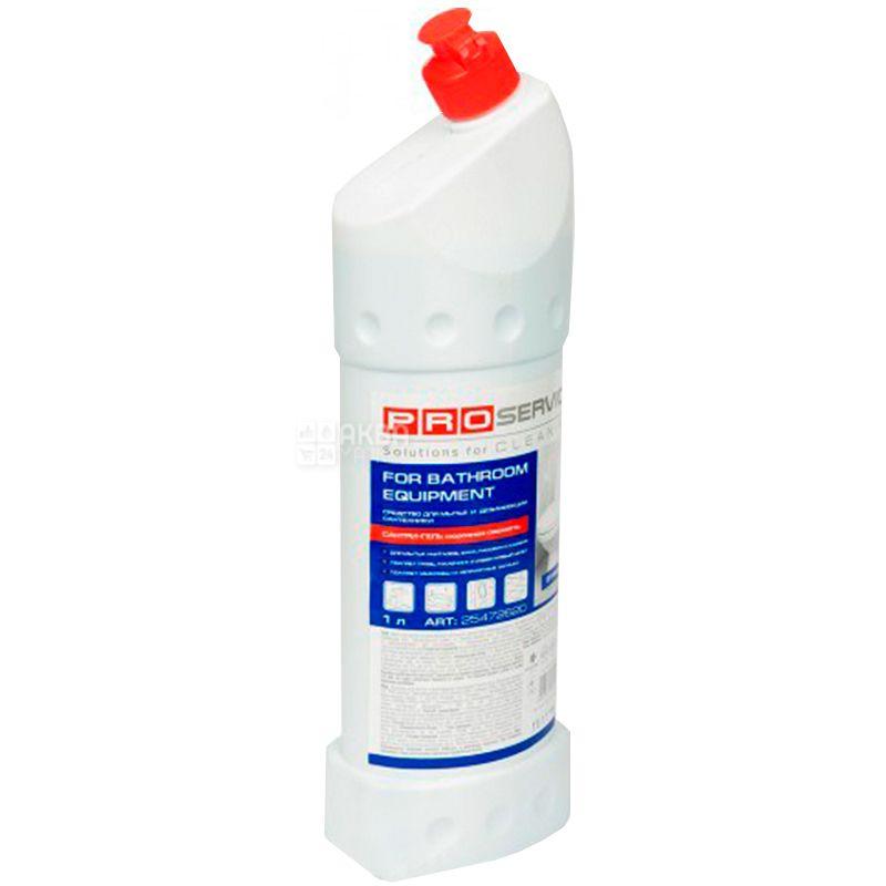 PROservice, Засіб для миття та дезінфекції, Сантрі-гель, Морозна свіжість, 1 л