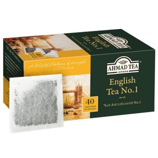Ahmad, 40 шт., чай чорний, English Tea No.1