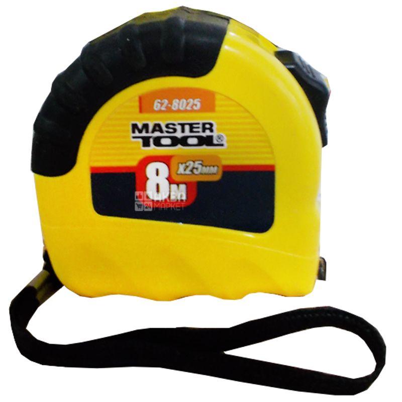 MASTER TOOL, 8 м, рулетка, Schiftlock, 62-8025