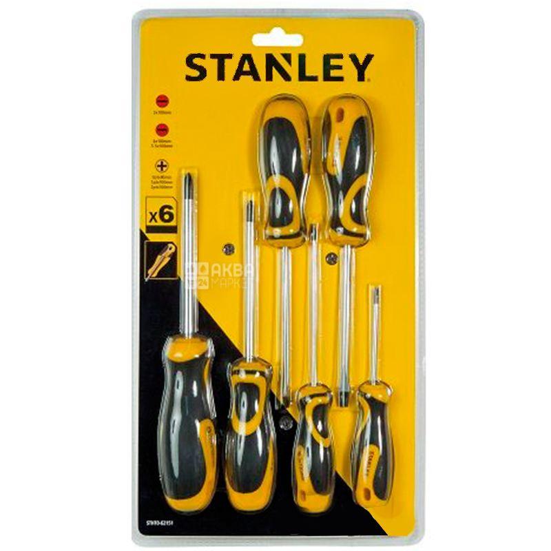 Stanley, 6 предметів, набір викруток, STHT0-62151