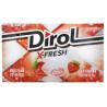 Dirol, 18 г, Жевательная резинка, X-Fresh, Клубничная свежесть