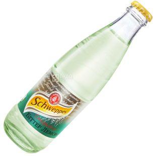 Schweppes, 0,25 л, Солодка вода, Bitter Lemon, скло