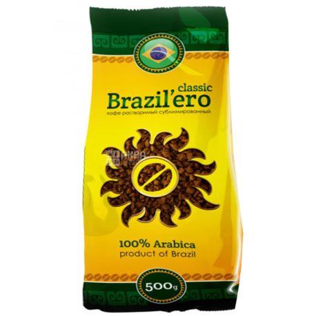 Brazil'ero, 500 г, растворимый кофе, Classic