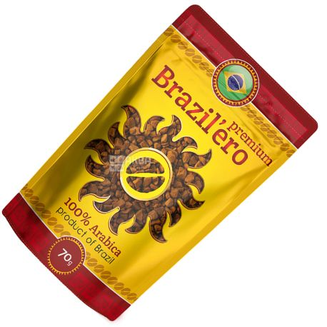 Brazil'ero, 70 g, instant coffee, Premium