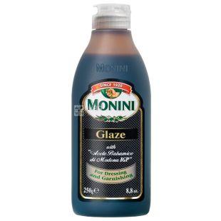 Monini, 250 мл, Глазурь бальзамическая, ПЭТ
