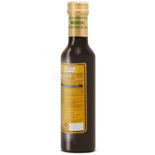 Monini, 250 ml, 6%, Modena Balsamic Vinegar, Glass