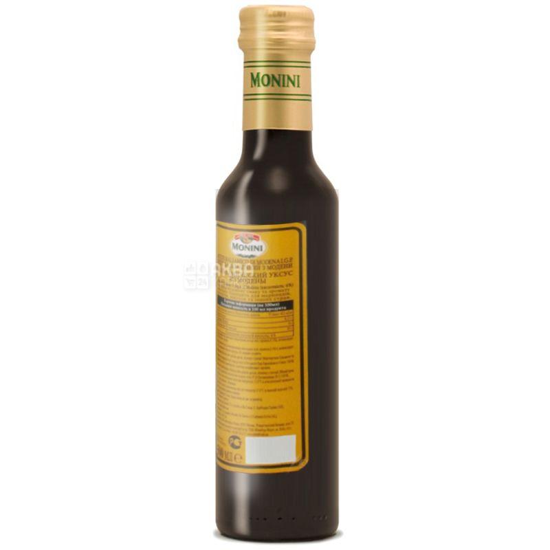 Monini, 250 мл, 6%,  Уксус бальзамический из Модены, Стекло
