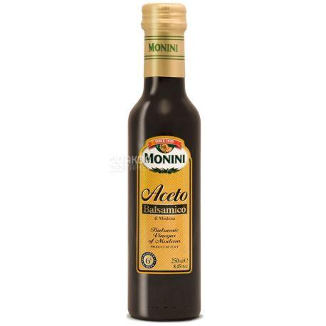 Monini, 250 мл, 6%,  Оцет бальзамічний з Модени, Скло