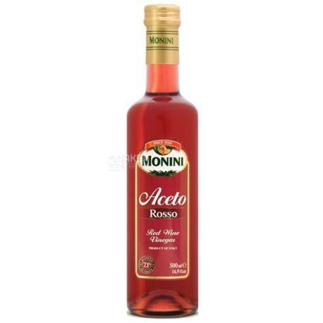 Monini, 500мл, 7,1%, Уксус винный, Красный, Стекло