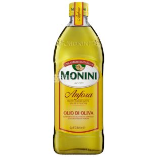 Monini, 500 ml, Olive oil, Anfora olive oil, Refined, Glass