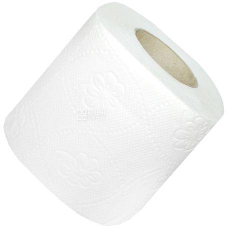 КПК, 16,25 м, Туалетний Папір, Тришаровий, Білий