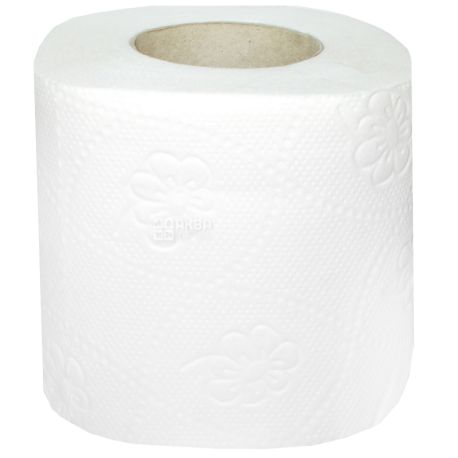 КПК, 8 рул., Туалетний папір, 2-х шаровий