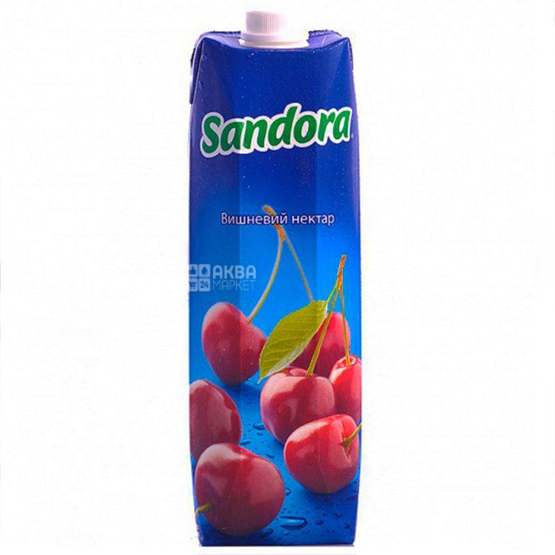 Sandora, Вишневий, 0,95 л, Сандора, Нектар натуральний