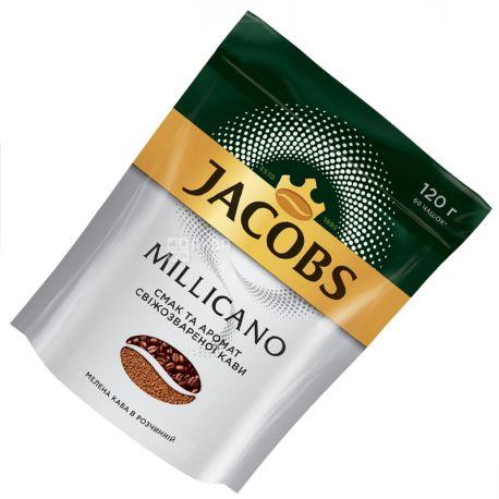 Jacobs Millicano, 120 г, Кофе Растворимый, м/у