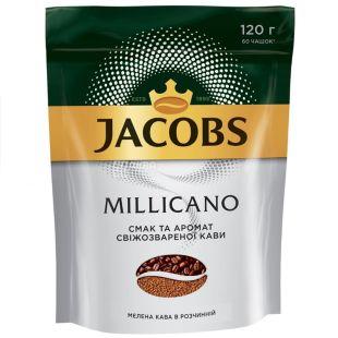 Jacobs Millicano, 120 г, Кофе, Растворимый, м/у,