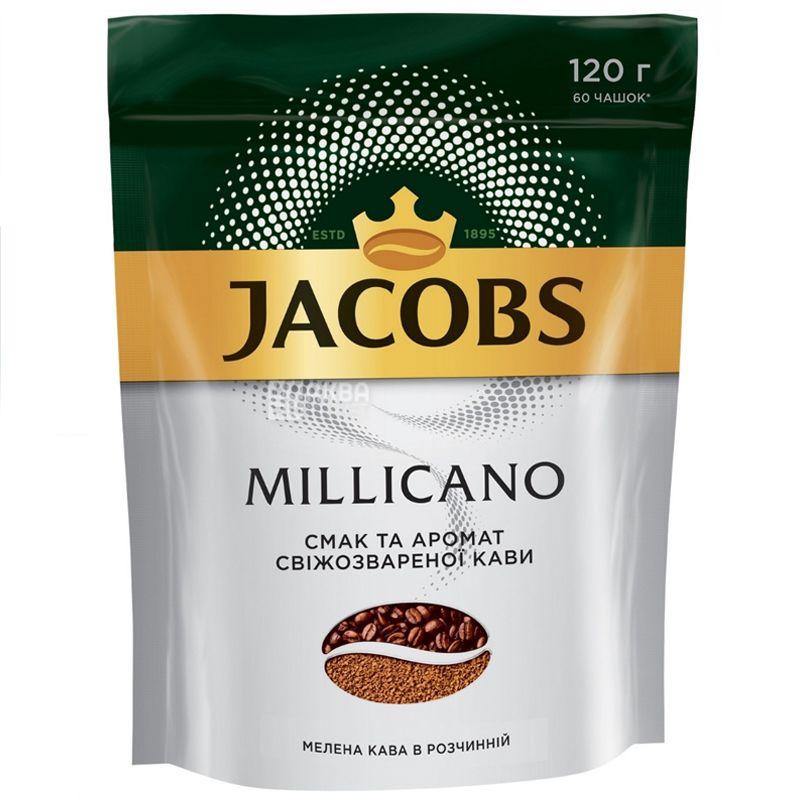 Jacobs Millicano, 120 г, Кофе Якобс Милликано, растворимый