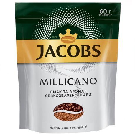 Jacobs Millicano , 60 г, Кофе Растворимый, м/у