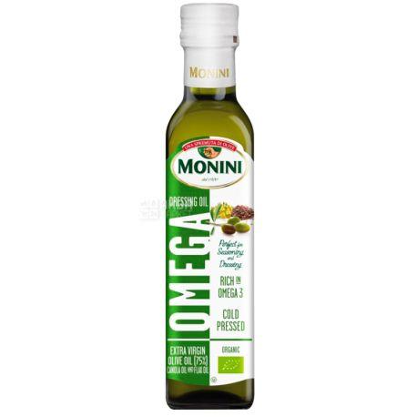 Monini, 250 мл, Смесь масел, Omega, стекло