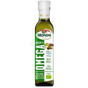Monini, 250 мл, Суміш олій, Omega, скло