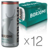 Borjomi, Packing 12 pcs. 0.33 l each, highly carbonated water, mineral, w / w