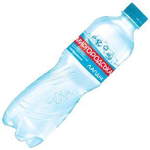 Миргородская, 0,5 л, Вода слабогазированная, Минеральная, Лагидна, ПЭТ
