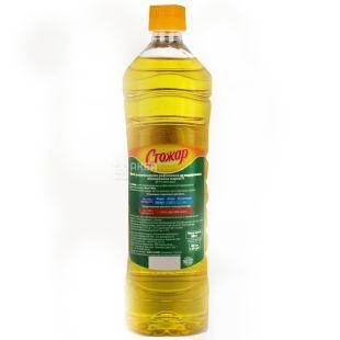 Stozhar, 0.87 l, Sunflower oil, Refined, PET